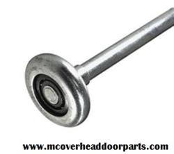 Garage door roller 2 short stem steel 10 ball bearings for 18x7 garage door prices